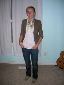 shirt pomme blazer DI scarf F21 jeans oldnavy shoes target3