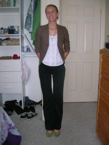 shoes target pants delias shirt delias blazer necklace grandmother