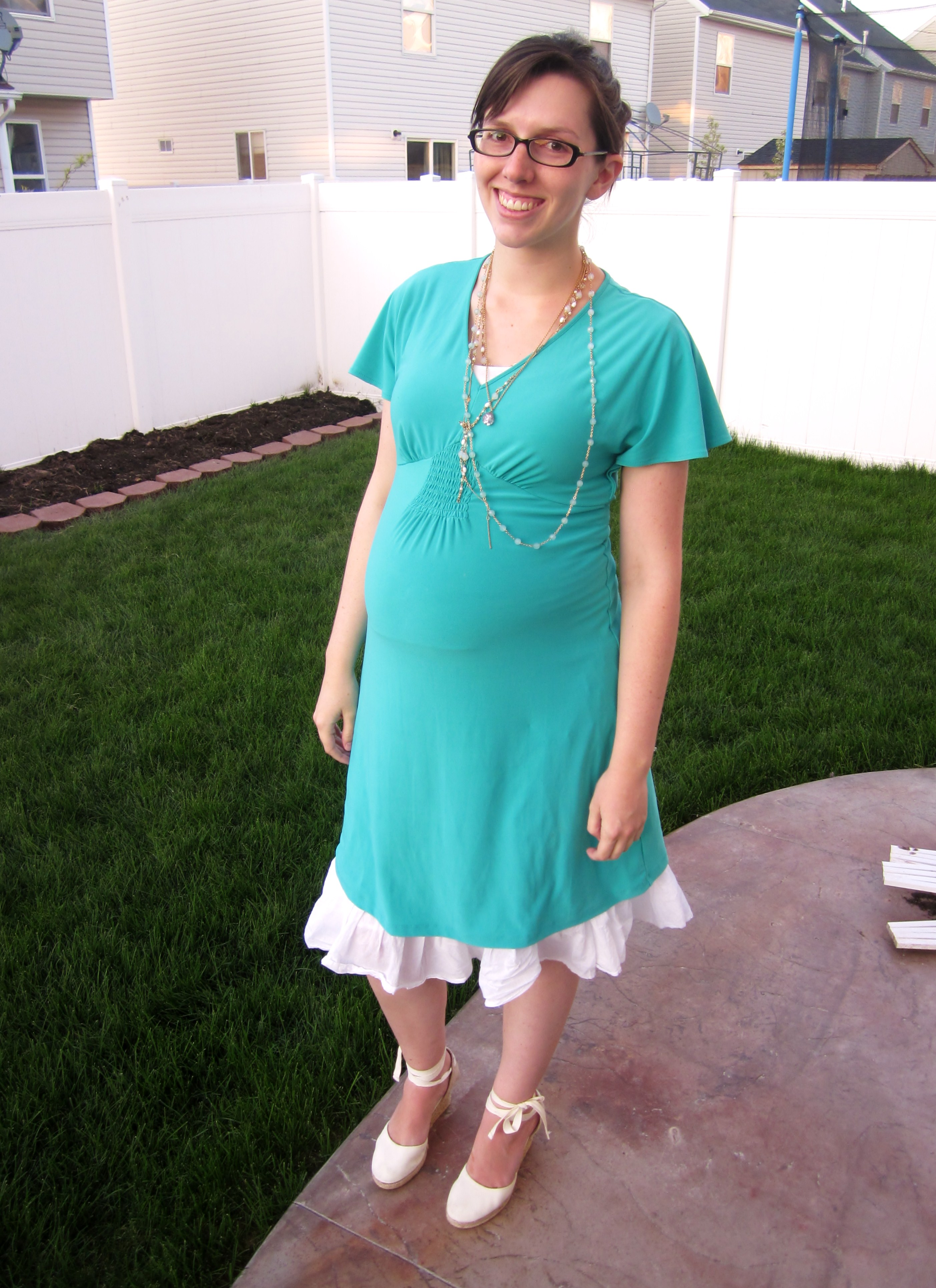 May 2011 all this knavry dress motherhood maternity 2006 skirt gift old navy 2009 espadrilles thrifted gap necklaces forever 21 the pink glass marble one was my ombrellifo Choice Image